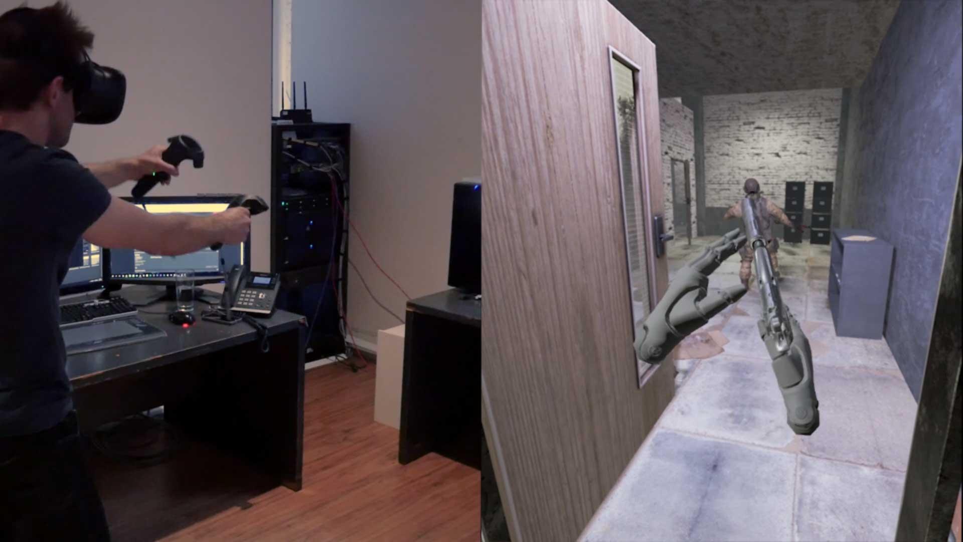 Espire 1 VR Stealth Game footage