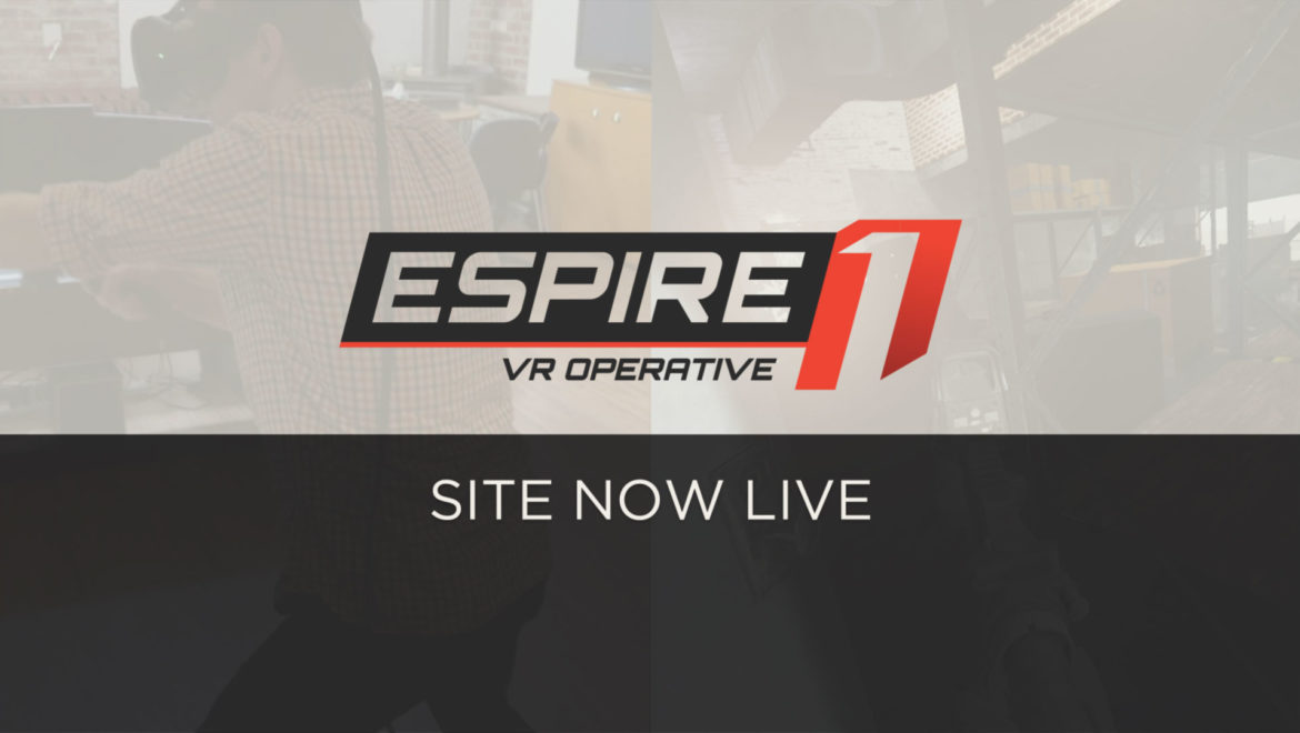 Espire 1 VR Stealth Game Website is now live